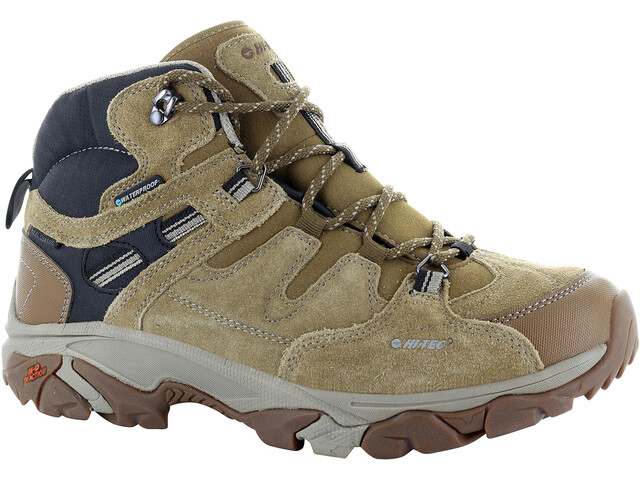Hi-Tec Ravus Adventure Mid WP Shoes Men Tan/Black/Dune